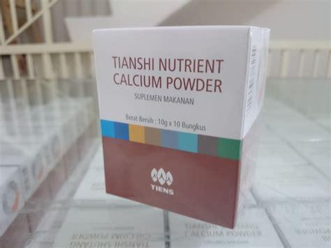 Nutrient Calcium Powder Tiens 1 nutrient calcium powder tiens tianshi suplemen terbaik buat tulang 100 transaksi sukses