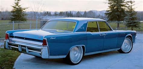 classic garage: carmelo anthony's 1964 lincoln continental
