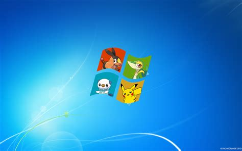 themes pictures com pokemon windows 7 wallpaper by theblack kyurem on deviantart