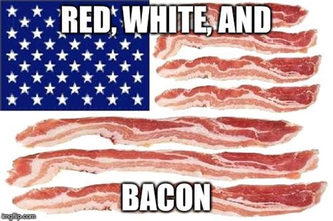 Bacon Strips And Bacon Strips Meme - american baconaters we salute your service to this