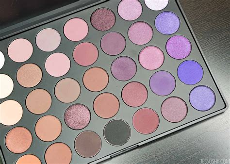 morphe p plum eyeshadow palette review swatches