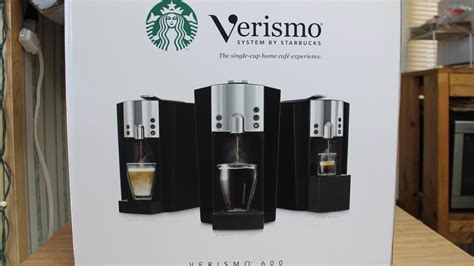 Coffee Maker Starbucks starbucks verismo coffee maker review and oper with