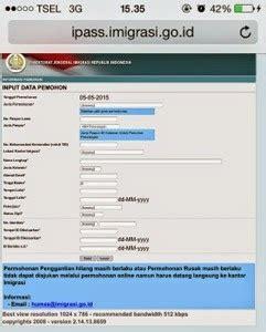 Pembuatan Paspor Online Karawang | cara membuat paspor online innnayah