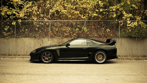 Toyota Supra Black Toyota Supra Shining Black Hd Wallpaper 187 Fullhdwpp