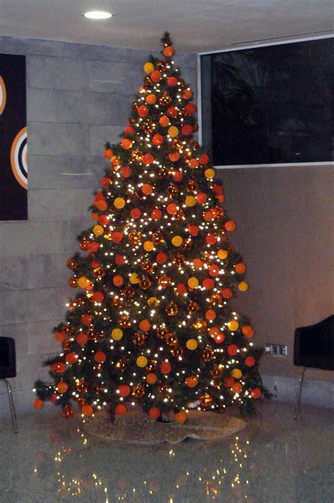 193 rboles navidad color naranja b m 193 rboles de navidad