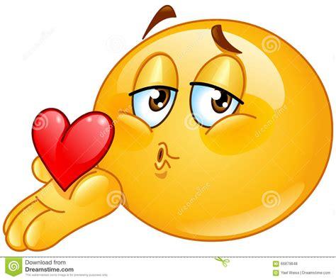 imagenes comicas de un beso emoticon del var 243 n del beso que sopla ilustraci 243 n del
