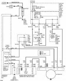 Acura Integra Wiring Diagram Honda Acura Integra 1997 Charging Circuit Diagram All