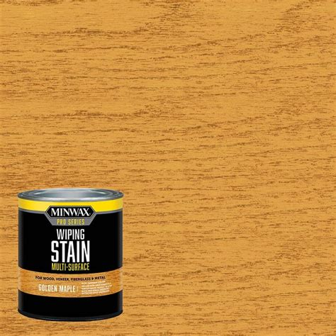 shop minwax pro series wiping stain golden maple actual