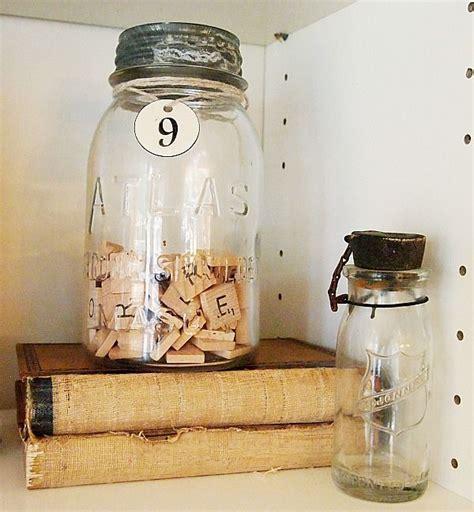 scrabble jar 1000 images about glass bottles vases on