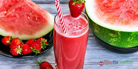 Watermelon Raspberry Detox Water by Top 12 Most Effective Detox Drink Recipes For Weight Loss