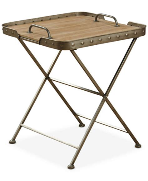 shop side table with removable tray venten top folding side table with removable tray top