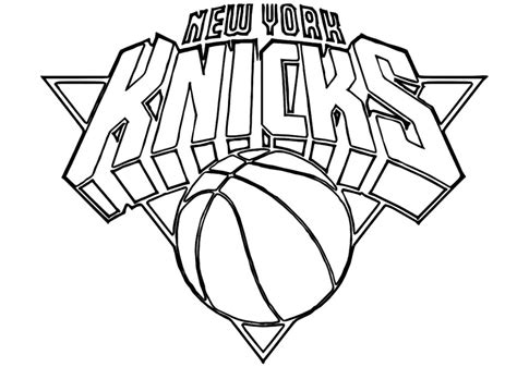 Nba Logos Coloring Pages nba logo coloring pages az coloring pages