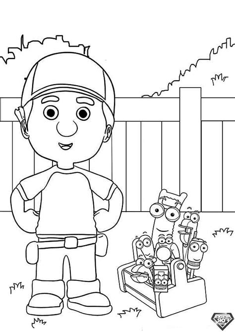 Handy Manny Coloring Pages To Download And Print For Free Handy Manny Coloring Pages