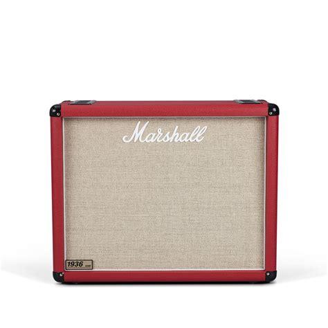marshall mx212 2x12 guitar speaker marshall 1936 2x12 quot guitar speaker cab red at gear4music com