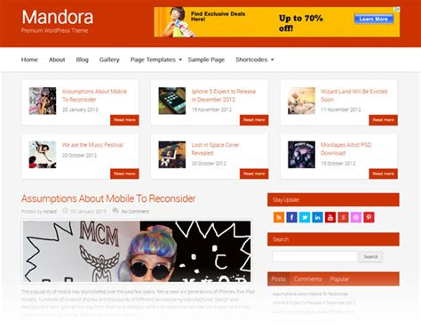 themes wordpress multisite mandora newspaper magazine wordpress template magpress com