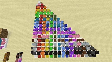 Sheep Offspring Chart (1.7+) Minecraft Project Html Color Codes Minecraft