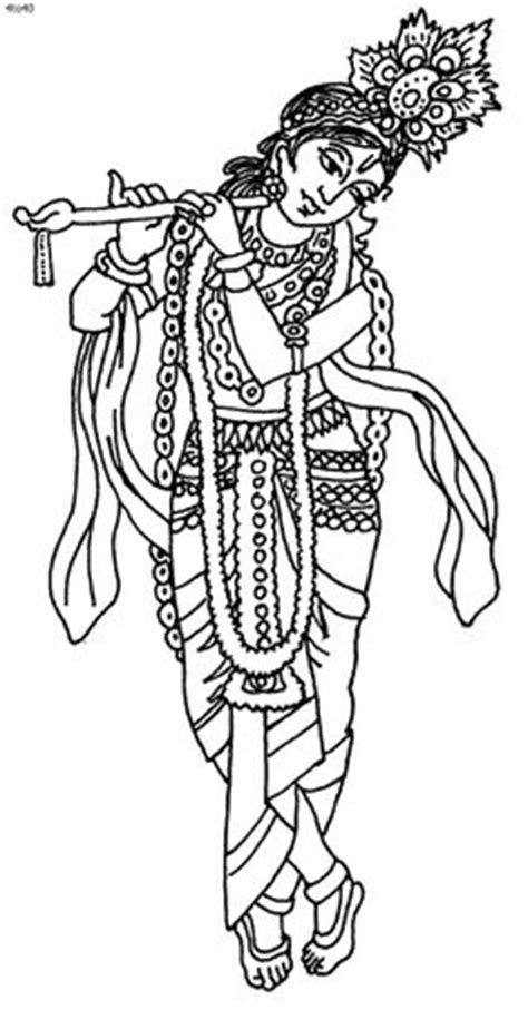 Outline Pictures Of God Krishna by Images Of Line Drawing Krishna Search Drawings Krishna Indian And