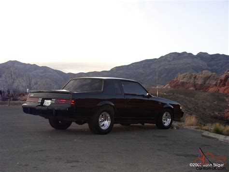 turbo buick grand national 1987 buick grand national turbo regal g