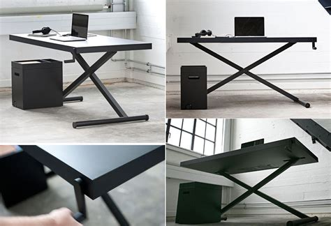 adjustable height desk plans comfort knows no limits height adjustable desk designs