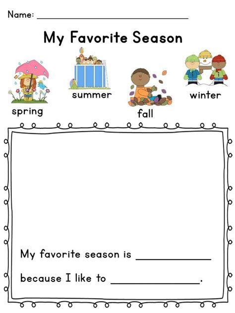 Why Summer Is My Favorite Season Of The Year Essay by 25 Best Ideas About Seasons Kindergarten On 4 Seasons Weather Preschool Seasons