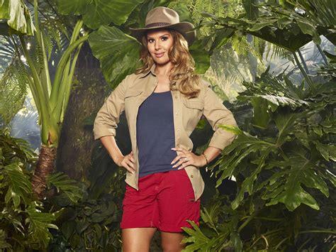 celebrity jungle elimination i m a celebrity 2017 rebekah vardy is the third cmate