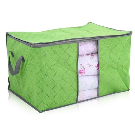 Storage Bag Flower Box Jumbo Cloth Cover Bed Organizer new large jumbo duvet bedding clothing blanket zipped storage bag box container ebay