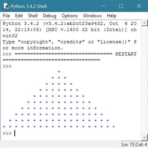 java program to print pyramid pattern of stars python program to print star pyramid patterns