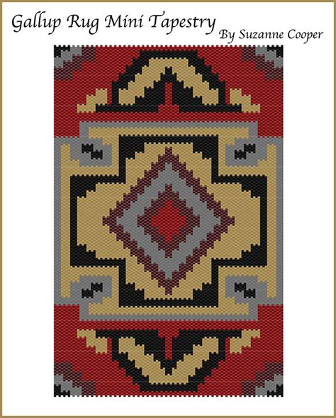beaded tapestry patterns gallup rug mini tapestry bead patterns