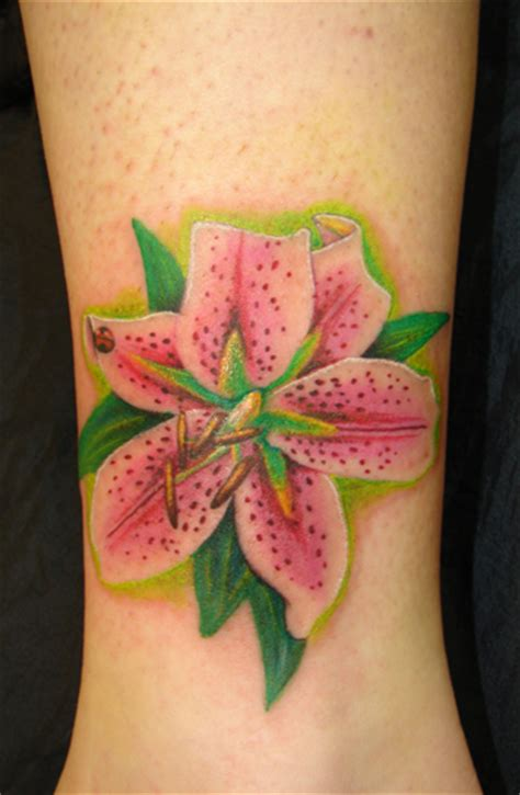 lily flower tattoos on wrist 3 by asussman on deviantart