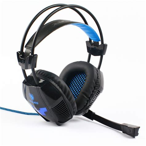 Sound Card Usb Headset m2cbridge sades a30 gaming earphones durable headphone computer headset with microphone usb