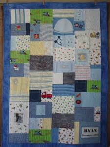Quilt Baby Clothes by Baby Clothes Memory Quilt A Patch Of