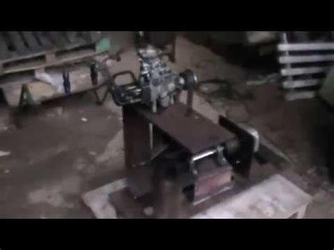 homemade test bench home made diesel injection pump test bench part 1 youtube