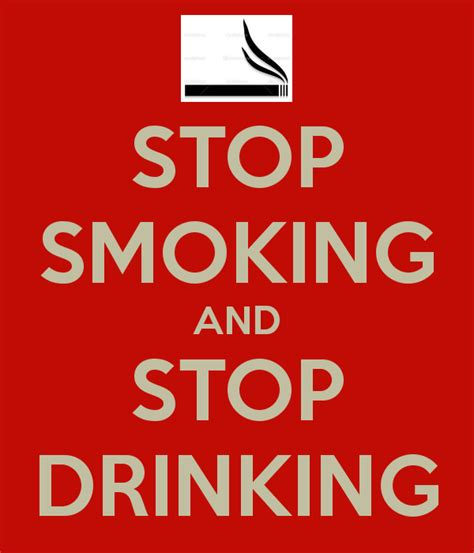 Stop Smooking stop and stop poster keep calm o matic