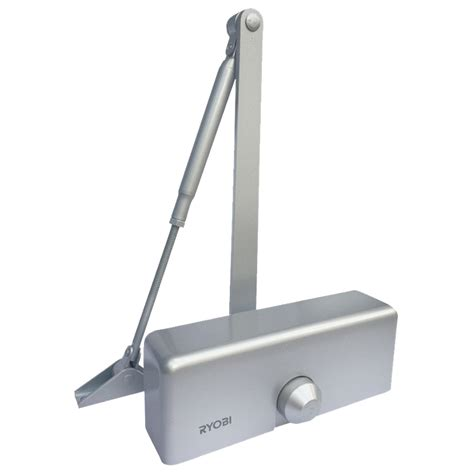 Door Closets by Ryobi Silver Hydraulic Door Closer Bunnings Warehouse