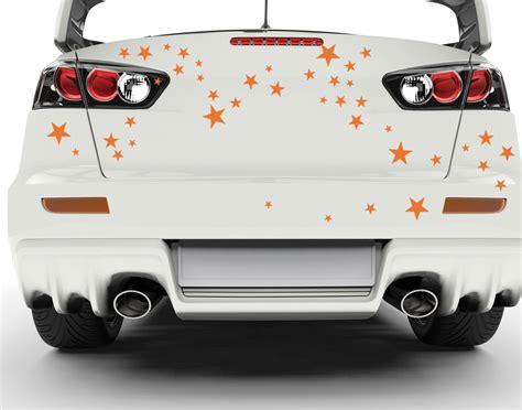 Autoaufkleber Set by Autoaufkleber Sterne Set Autottoos Autotuning