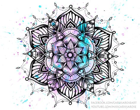 geometric tattoo bristol mandala ii by misscarissarose on deviantart tattoo ideas