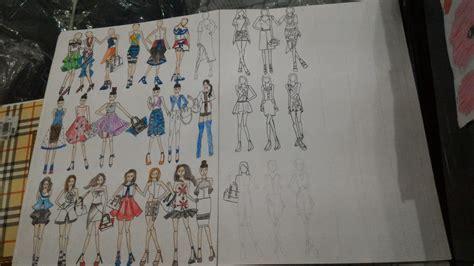 desain baju untuk pemula cara menggambar desain baju youtube design murid