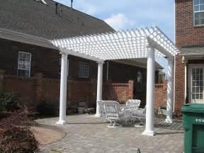 Brick Patio Arbor Pergola Archadeck Of