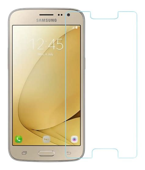 Tempered Glass Samsung J2 Pink samsung galaxy j2 2016 tempered glass screen guard by