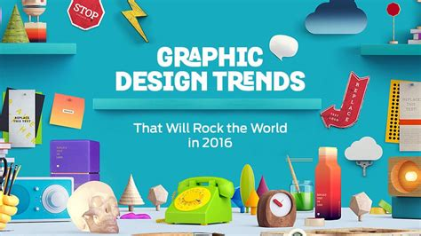 2016 design trends graphic design trends that will rock the world in 2016