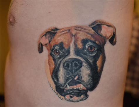 boxer dog tattoo designs 33 best boxer with images on
