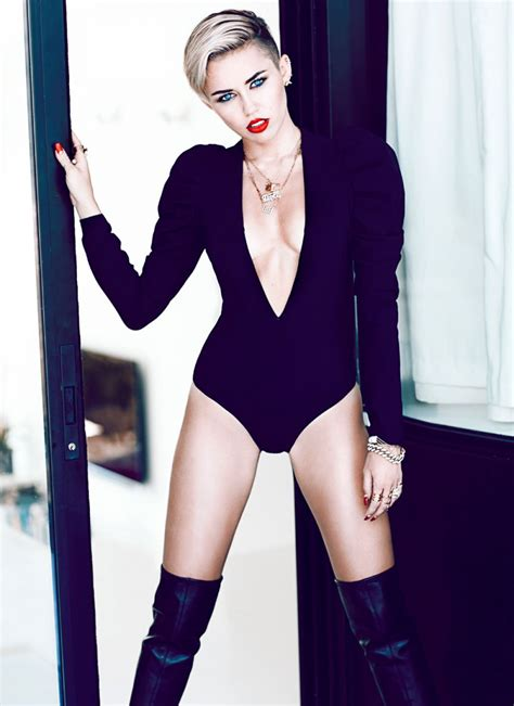 Style Miley Cyrus by Miley Cyrus Fashion Magazine Photoshoot Hawtcelebs