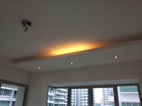 Lighting Holders False Ceilings L Box Partitions Ceiling Light Box