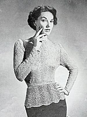 vintage knitted patterns a look the vintage knitting patterns crochet and knit