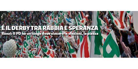 ufficio sta pd l italia sta cambiando verso ora tocca all europa rosa