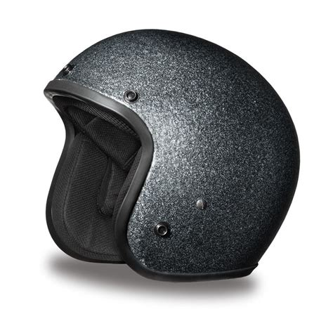 daytona helmet cruiser gun metal flake open dot