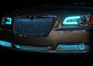 Halo Headlights For Chrysler 300 Chrysler 300 Halos Multi Color Grille Led Lighting