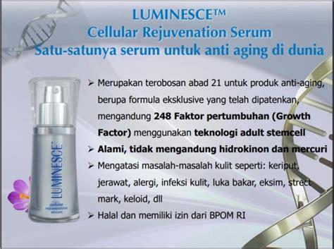 Luminesce Serum Indonesia presentasi bisnis info jeunesse indonesia jeunesse