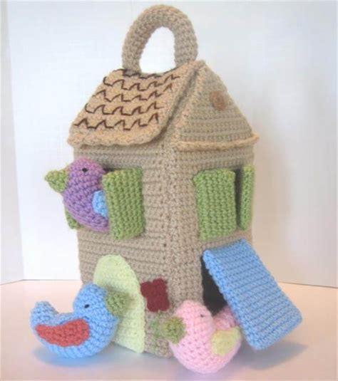 Crochet House Pattern Free | diy crochet bird house pattern 101 crochet