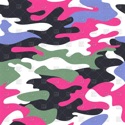 clipart royalty free camouflage pink seamless pattern royalty free vector clip